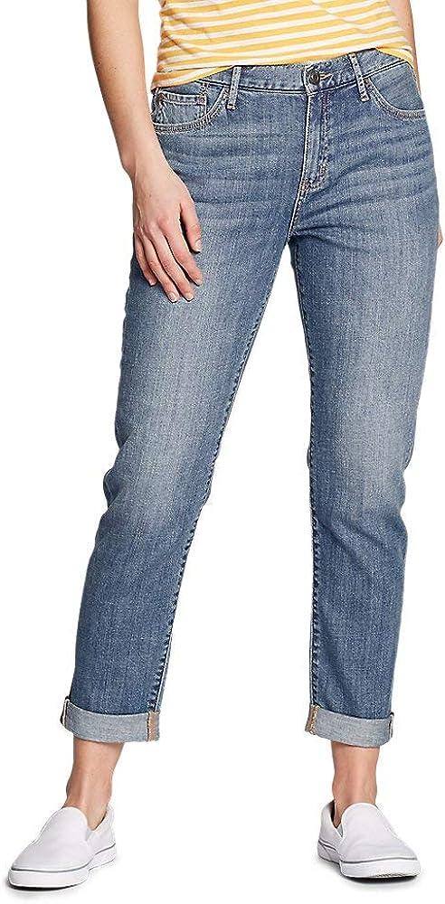 Eddie Bauer Women's Boyfriend Leg Our shop most popular Slim Jeans - cheap