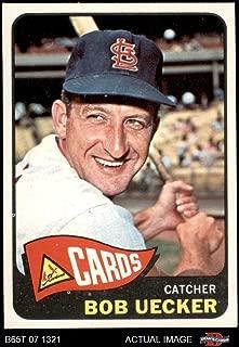 1965 Topps # 519 Bob Uecker St. Louis Cardinals (Baseball Card) Dean's Cards 6.5 - EX/MT+ Cardinals