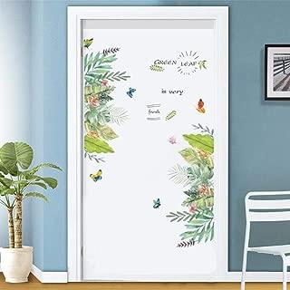 Boris Felix Privacy Window Film Decorative Glass Sticker,3D Autumn Leaves Door Stickers for Bedroom Living Room Beautiful Landscape Mural Decal Home Decor Adhesive Wallpaper (15