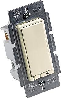 Jasco 45609LAB Z-Wave On/Off Relay Switch (Light Almond) (ZW4001)
