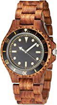 Men's Wood Watch Handmade Natural Wood Luxury Fashion Quartz Lightweight Couple Wrist Watches
