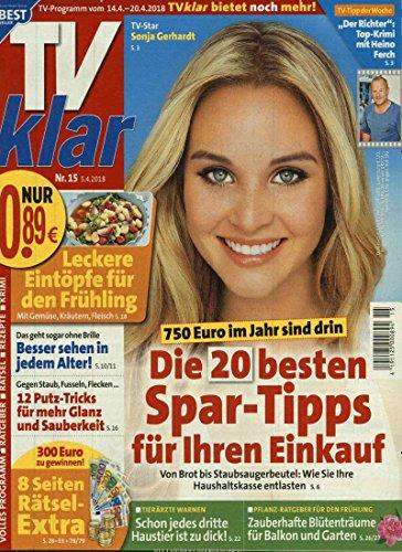 TV Klar [Abonnement jeweils 52 Ausgaben jedes Jahr]