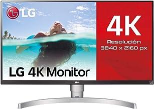 "LG 27UL650-W - Monitor 4K UHD de 68,6 cm (27"") con Panel IPS (3840 x 2160 píxeles, 16:9, 350 cd/m², sRGB >99%, 1000:1, 5 m..."
