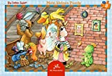 The Friendly Seven 8 piece Let's Play Dressing Up Frame Puzzle, 28 x 19 cm, Model# 12124