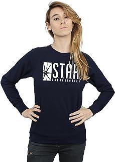 DC Comics Women's The Flash Star Labs Sweatshirt