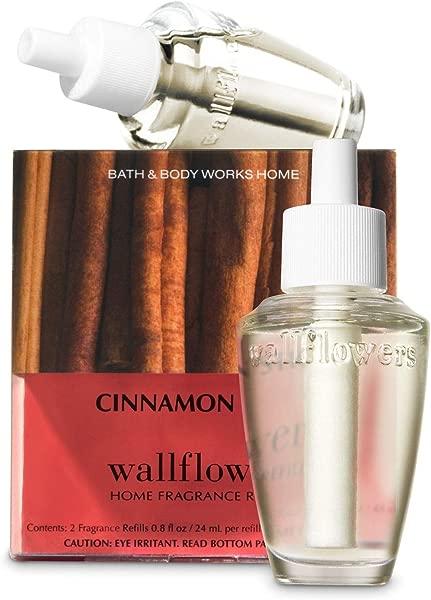 Bath Body Works Cinnamon Stick Wallflowers Home Fragrance Refills 2 Pack 1 6 Fl Oz Total