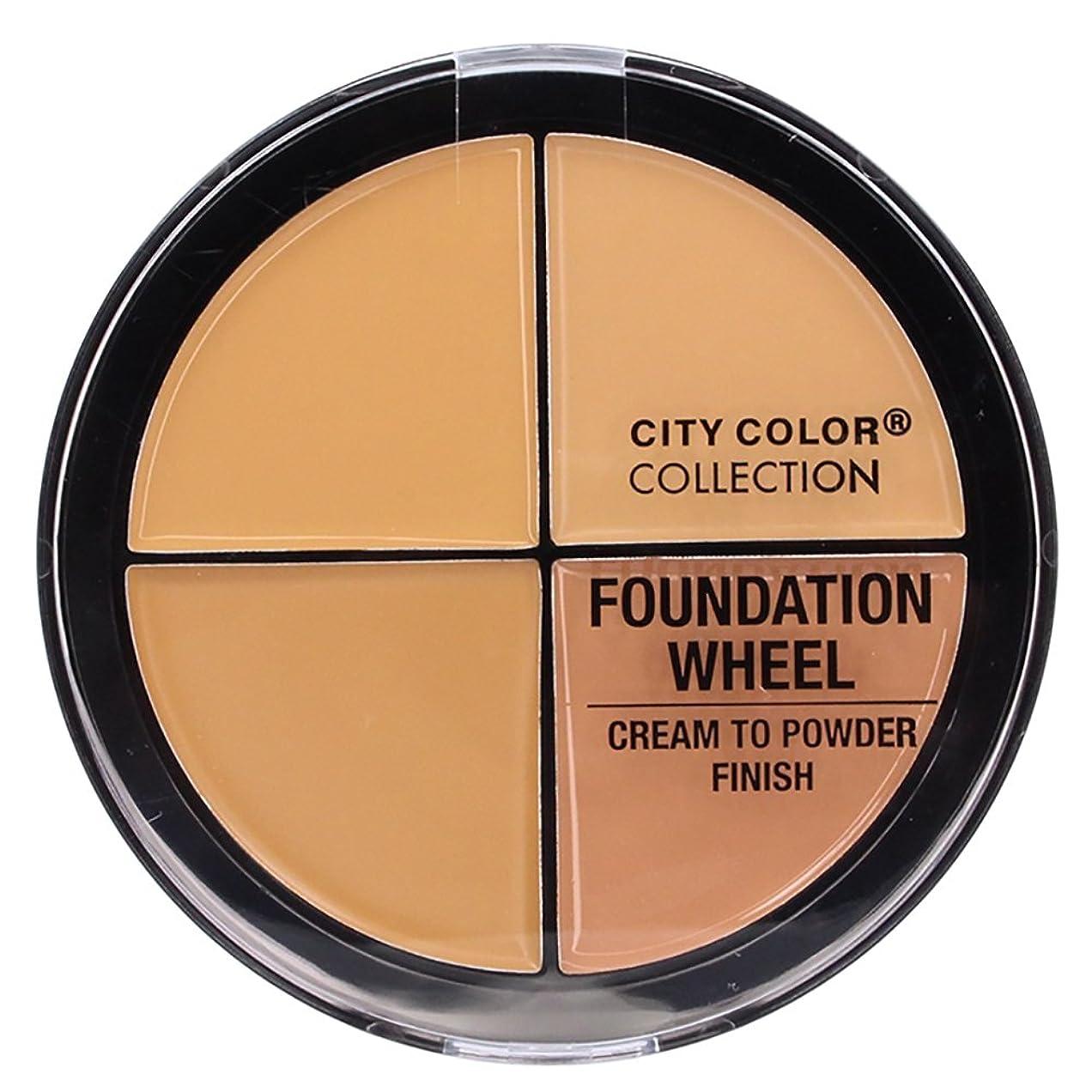 ピッチャー砲撃空気CITY COLOR Foundation Wheel - Medium (並行輸入品)