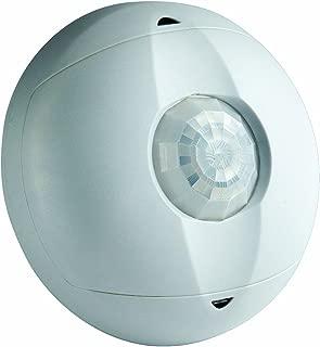 Leviton OSC15-I0W Ceiling Mount Occupancy Sensor, PIR, 360 Degree, 1500 sq. ft. Coverage, Self-Adjusting, White
