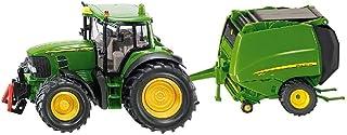 Siku 304525 John Deere Tractor with Round Baler,Vehicle
