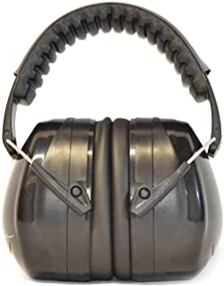 G & F Products 12010BL 34dB Highest NRR Safety Muffs-Professional Defenders Adjustable Headband Ear Protection, Shooting Hearing Protector Earmuffs Fits Adults to Kids, Black
