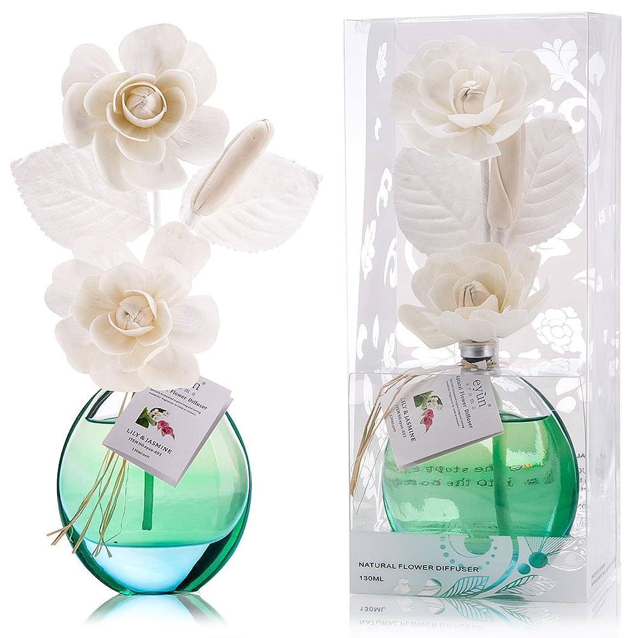 気分が悪い一般的に言えば危険誕生日 プレゼント に A03 ルームフレグランス (花瓶:水色, 香り:ユリ & ジャスミン)