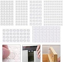 Hauteur: 5,8/mm but/ée Tampon but/ées Transparent 12,6/x 12,6/mm Meubles Tampon Home Xpert 24/pi/èces Tampon Protection Clear carr/é Autocollant