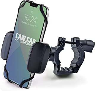 Bike & Motorcycle Phone Mount - for iPhone 12 Pro (11, SE, Xr, Plus/Max), Galaxy s21 or Any Cell...