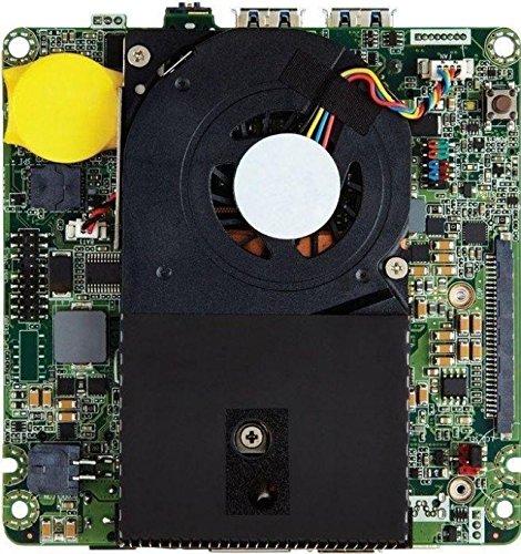 Intel Barebone NUC BLKNUC5I3MYBE Processore i3 5010U, Nero/Antracite