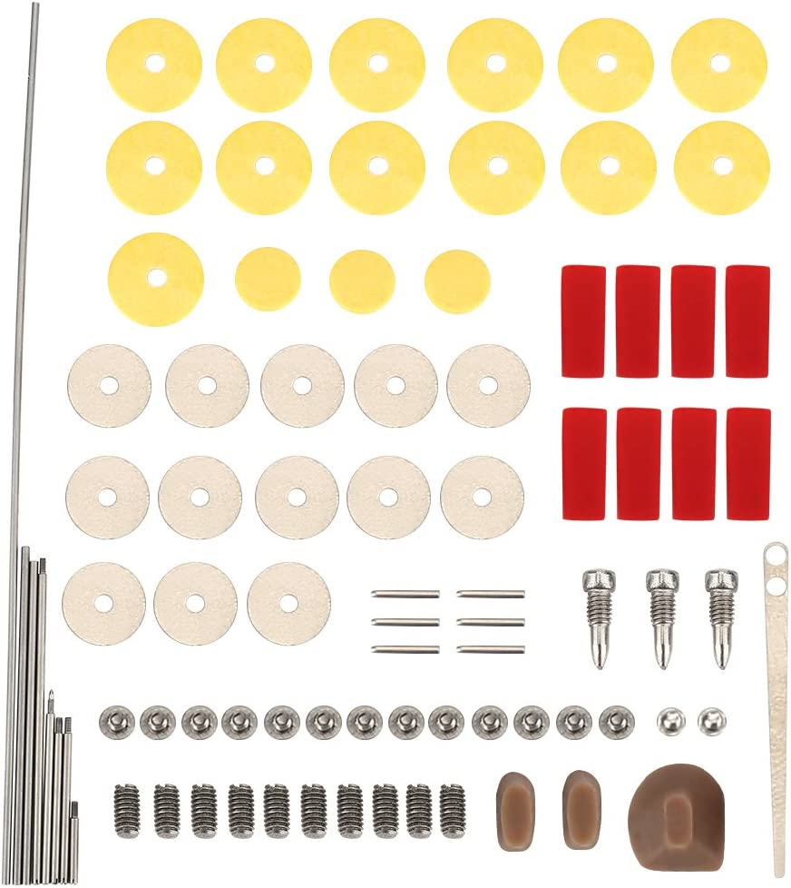 Flute Repair Tools Kit with At the price of surprise 16pcs Musical Sound Hole store Open Pads