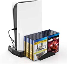 $36 » PS5 Cooling Fan Stand, Charger for PS5 Dualsense Wireless Controller, Vertical Stand for PS5 Console, Holder for PS5 Games...
