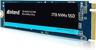 Inland Premium 2TB SSD M.2 2280 PCIe NVMe 3.0 x4 TLC 3D NAND Internal Solid State Drive,...