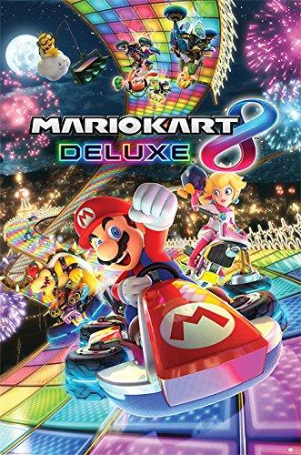 Nintendo Mario Kart 8 'Deluxe' Maxi Poster, 61 x 91.5 cm Mehrfarbig