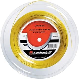 Babolat Pro Hurricane Tour Tennis String - Yellow - 1.20mm/18G - 200m (660ft) Reel