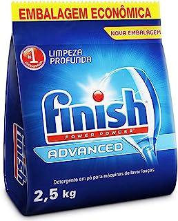 Finish Detergente em Pó Para Lava Louças Advanced, 2,5kg