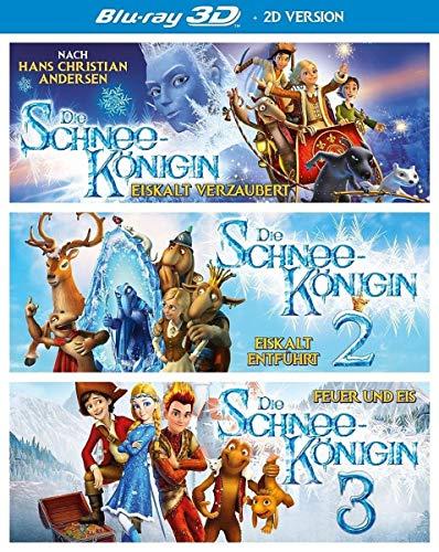 Die Schneekönigin 1-3 Box (3 Blu-ray 3D) ( inkl. 2D-Version)