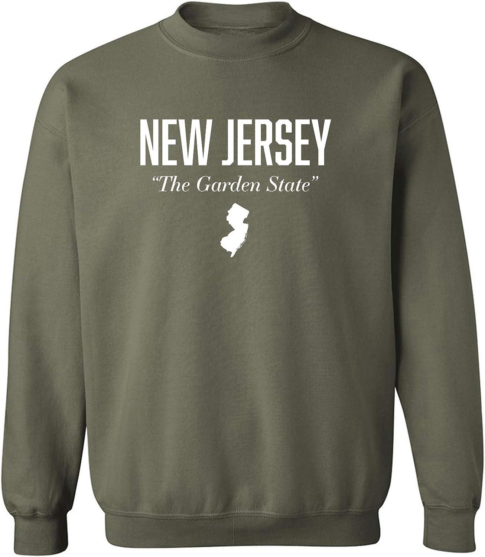 New Jersey The Garden State Crewneck Sweatshirt