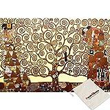 Omega Puzzle Árbol Omega de la Vida - Gustav Klimt - 1000 Pedazos del Rompecabezas de Rompecabezas [Se Incluye Bolsa]