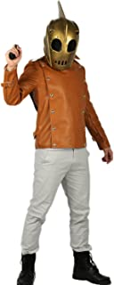 Rocketeer Costume Helmet Halloween Outfit Suit for Adult