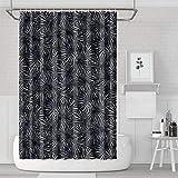 YUYUTE Cortinas de baño Decoración de bañoBath Curtain Dark Cactus Plant Bathroom Accessories Waterproof Water Resistant for Bathroom,Printing Bath Curtains