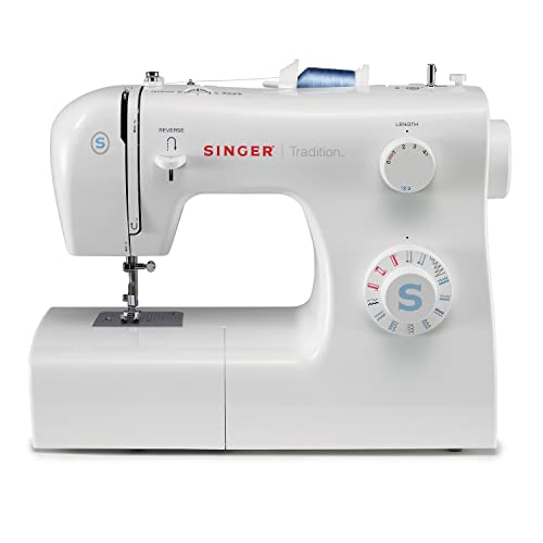 SINGER | Tradition 2259 Portable Sewing Machine including 19 Built-In Stitches, 4 Snap