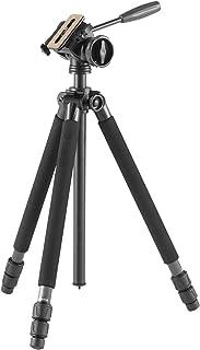 Velbon カーボン三脚 BIRDERS PRO 638 3段 ナットロック 脚径28mm 中型 フリュード雲台 スライド式クイックシュー対応 カーボン脚 500014