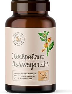 ASHWAGANDHA   Hochpotenz Ashwagandha-Extrakt mit 7% Withanol