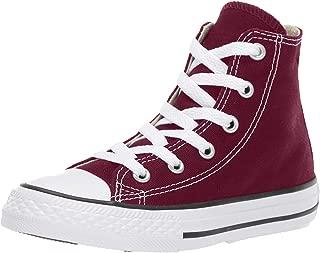 Converse Kids' Chuck Taylor All Star High Top Burgundy Shoes 2.5 Little Kid M