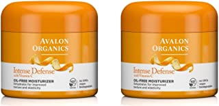 Avalon Organics Intense Defense Oil-Free Moisturizer, 2 Ounce (Pack of 2)