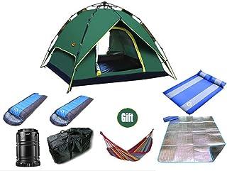 YDD Camping tält automatisk uppfällning utomhus par 2 personer fritid semester solskydd regn picknick tält - 3 typer av lä...
