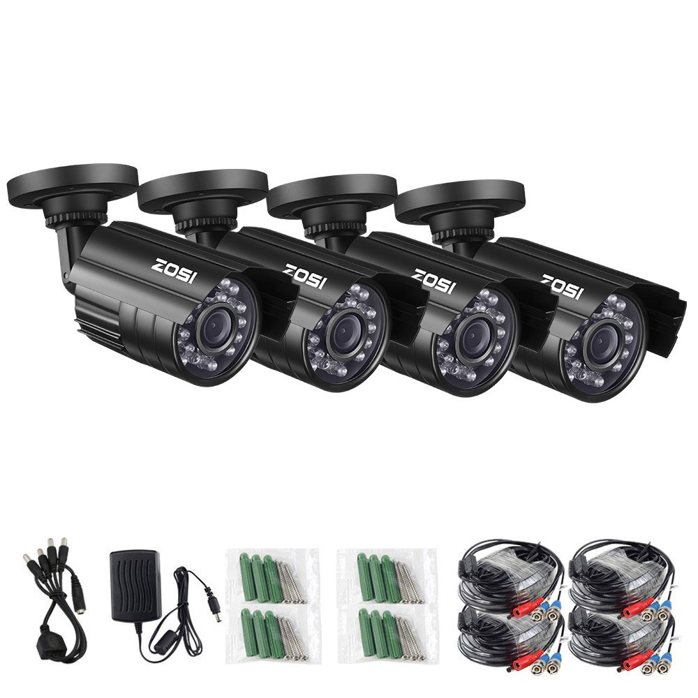 ZOSI Security Cameras Weatherproof Surveillance