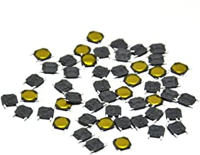 Gikfun Tact Switch SMT SMD Tactile Membrane Switch Push Button for Arduino (Pack of 50pcs) AE1247