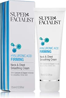 SUPER FACIALIST Hyaluronic Acid Firming Neck & Chest Smoothing Cream, 75 ml