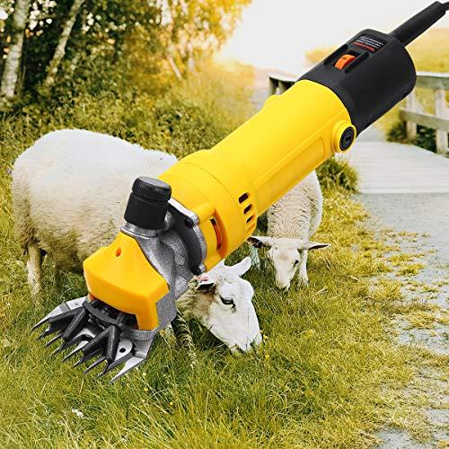 LAYBAY Kit De Máquina Esquiladora De Ovejas, 1000w Eléctrica Profesional Maquina De Esquilar para Ovejas con Motor De Cobre