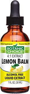 Sponsored Ad - Botanic Choice Lemon Balm Liquid Extract - Alcohol-Free Herbal Daily Supplement - Promotes Natural Peace of...