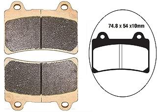 I-Joy Brake Pads Replaces FA123 for Yamaha FJ 1200 FZR TDR TZR 250 FZR 400 750 1000 SRX 400 600 Supreme Quality