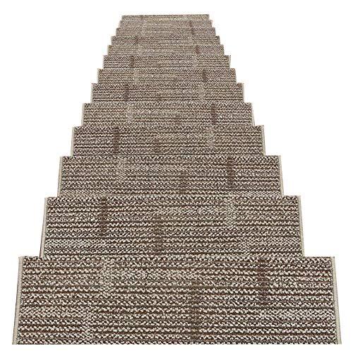LIXIONG Scale Tappetino Pad 5 Pezzi Coperte Antiscivolo Autoadesive Tappetino da Passeggio Pattern Pad HD Tappeto Domestico (Colore : 3#-5 Pieces, Dimensioni : 80x(24+3) cm)