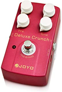 JOYO Deluxe Crunch Pedal of Classic Crunch Distortion Present the Same Effect as Modern High-Gain Amps or Vintage for Electric Guitar (JF39)