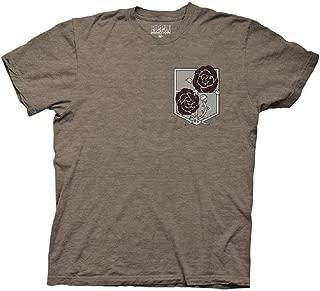 Attack on Titan Garrison Symbol Anime Adult T-Shirt