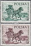 Prophila Collection Polonia 1266-1267 (Completa.edición.) 1961 día el Sello 1961 (Sellos para los coleccionistas) Caballos