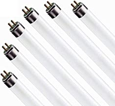 (6 Pack) F17T8/841 17W 24 Inch T8 Fluorescent Tube Light Bulb, 4100K Cool White, Medium Bi-Pin (G13) Base, 17 Watt T8 Ligh...