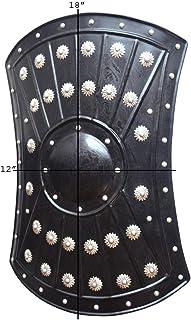 "Allbeststuff Medieval Barbarian Armor Templar Viking 18"" Iron Shield ABS"
