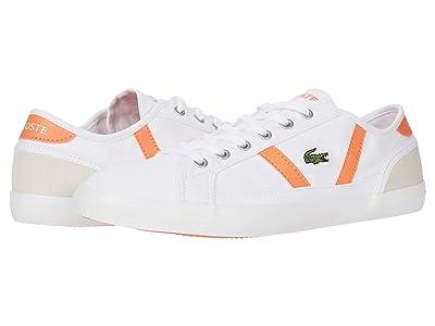 Lacoste Sideline 0120 6 CFA (White/Orange) Women