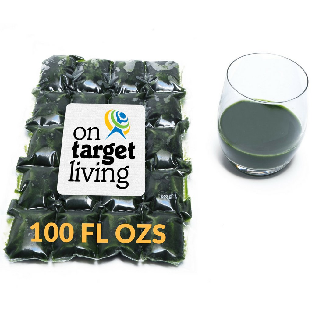 On Target Living Wheatgrass Juice - At the price of surprise Oz $1.89 100 Austin Mall Ozs Fl Per