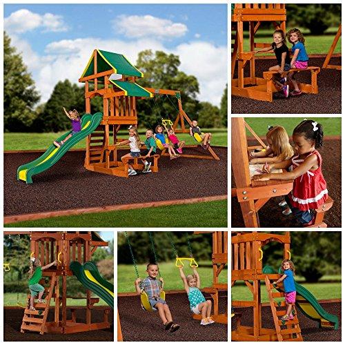 Skroutz Playground Children Play Swing Set...